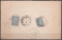 Perse - L. Recom Affr. 24ch Càd TEHERAN/1903 Pour PARIS - Càd Transit BAKOU (Azerbaïdjan) - Iran