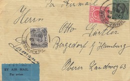 Singapore: 1933: Hamburg Amerika Linie: M.S. Kulmbach Via Air Mail To Hamburg - Singapore (1959-...)