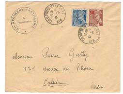 16028 - CAMP DE LA VALBONNE - Marcophilie (Lettres)