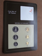REPUBLIC OF VANUATU ( From The Serie Coin Sets Of All Nations ) Card 20,5 X 29,5 Cm. ) + Stamp '83 ! - Uruguay
