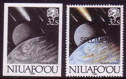 Niuafoou 1989 Evolution - Blackprint Proof + Specimen - Comet - Space - Vor- U. Frühgeschichte