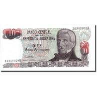 Billet, Argentine, 10 Pesos Argentinos, KM:313a, SPL+ - Argentine