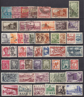 Saar/Saarland Kleines Briefmarken Lot überwiegend Gestempelt  (4734 - Deutschland