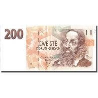 Billet, République Tchèque, 200 Korun, 1993, 1993, KM:6a, SUP - Tchéquie