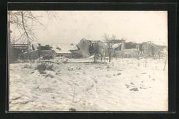 Photo-CPA Ville-en-Woevre, Vue Partielle Im Schnee - Non Classificati