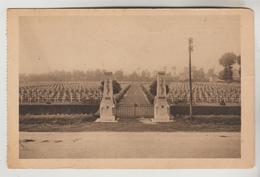 CPSM BRAS SUR MEUSE (Meuse) - Le Cimetière Militaire Français 3714 Tombes, 2 Ossuaires - Frankreich