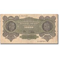Billet, Pologne, 10,000 Marek, 1922, 1922-03-11, KM:32, TB+ - Pologne
