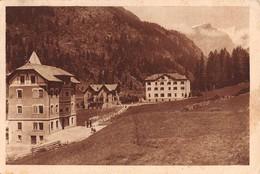 """07911 """"CHAMPOLUC VAL D''AYAS (AO) - HOTEL BREITHORN"""" CART ORIG. SPED. 1944. AFFRANCATURA R.S.I. - Italia"""