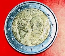 FRANCIA - 2017 - Moneta - 100 Anni Della Morte Di Auguste Rodin, Scultore - Effige - 'il Pensatore' -  Euro - 2.00 - Francia