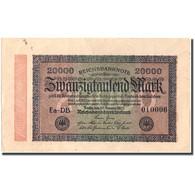 Billet, Allemagne, 20,000 Mark, 1923, 1923-02-20, KM:85e, SUP - 20000 Mark