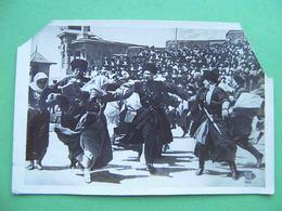 Caucasus 1936 Terek Cossacks, Dance, Dagger. Holiday In Pyatigorsk. Russian Photo Postcard. Russia - Russie
