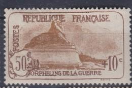 FRANCE 1926-27:  'Orphelins' , Le Y&T 230,  Neuf* - Neufs