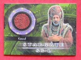 Trading Card Stargate SG 1 Costume Kasuf Erick Avart Avec Inclusion Tissu - Stargate