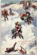 52939224 - Schlitten Humor Neujahr TSN - Thiele, Arthur