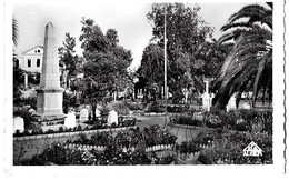 Algérie   COLLO  -  MONUMENT AUX MORTS Et LE SQUARE - Algeria