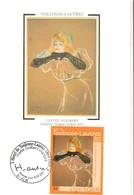 ALBI : Carte Philatélique  Premier Jour  - Tableau De Toulouse Lautrec -Yvetteguilbert - Albi