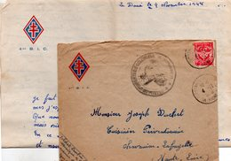 """L-  """" 4 ème B.I.C """"-- - Cachets Militaires A Partir De 1900 (hors Guerres)"""