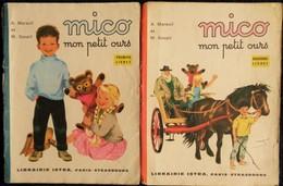 A. Mareuil Et M. Goupil - MICO Mon Petit Ours - 1er Et 2ème Livrets - Librairie ISTRA - ( 1974 ) . - Bücher, Zeitschriften, Comics