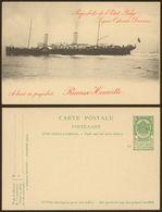 BELGIUM Paquebot Ostende Dover Postal Stat.mint( Ref.1118) - Postmark Collection