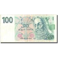 Billet, République Tchèque, 100 Korun, 1993, 1993, KM:5a, TTB - Tchéquie