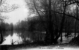 2653 Cpa 18 Saint Thibault - La Chevrette - France