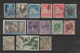 Algérie Lot De 14 Timbres Perforés BB, CL, CIMA Et PILTER - Algérie (1924-1962)