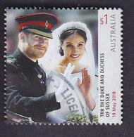 Australie: Mariage Du Prince Henry Et Meghan Markle  (non Adhésif) YT 4674 - Oblitérés