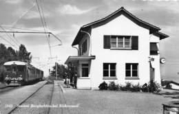"""M07919 """" STATION BURGHALDEN BEI RICHTERSWIL """"ANIMATA  CART ORIG.  SPED.1964 - ZH Zurich"""