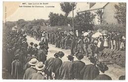 CPA 29 Les Luttes De SCAER - Les Courses De Chevaux - L' Arrivée - Autres Communes