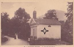 SAINT MARTIN VESUBIE. La Chapelle SAINT ROCH. - Saint-Martin-Vésubie