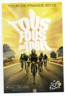 CPM   PUB      TOUR DE FRANCE 2012 - Wielrennen