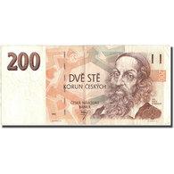 Billet, République Tchèque, 200 Korun, 1993, 1993, KM:6a, TTB - Tchéquie