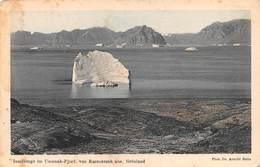 """M07920 """" INSELBERGE IM UMANAK-FJORD,VON KARSUARSUK AUS. GRONLAND """"  CART ORIG. NON SPED. - Groenlandia"""