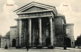 Detmold, Theater, Um 1910 - Detmold