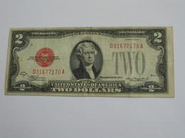 RARE  2 Two Dollar USA 1928 D - The United States Of America - Etats-Unis D'Amérique   **** EN ACHAT IMMEDIAT **** - Billetes De Estados Unidos (1928-1953)