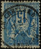 -Sage N°90 Type Ll. O .LE CHEYLARD. ( Ardéche )30 Juil 1897. - 1876-1898 Sage (Type II)