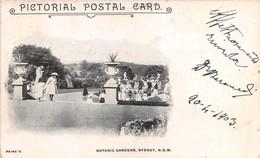 """M07921 """" BOTANIC GARDENS,SIDNEY,N.S.W. """" ANIMATA CART ORIG.  SPED.1903 - Sydney"""