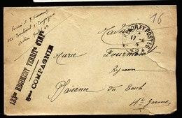 A6027) Frankreich France Feldpostbrief Tresor Et Postes 42 1915 ? - Briefe U. Dokumente