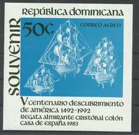 DOMINICANA YVERT H/B  36  MNH  ** - República Dominicana