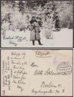 """Feldpost: """"Landsturmmann Willmann"""", Foto-AK, Bedarf, 26.12.15 - Besetzungen 1914-18"""