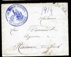 A6028) Frankreich France Feldpostbrief Field Post 1914 - Briefe U. Dokumente