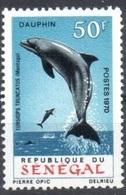 Senegal Mnh ** 9 Euros Dolphin - Senegal (1960-...)