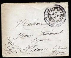 A6029) Frankreich France Feldpostbrief Tresor Et Postes 179 1916 - Briefe U. Dokumente