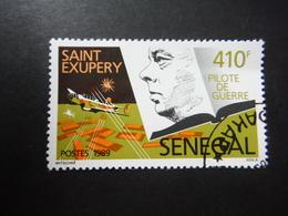 Sénégal 1989 - Saint Exupéry - Pilote De Guerre - Senegal (1960-...)