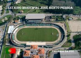 Portugal Figueira Da Foz Jose Bento Pessoa Stadium New Postcard Stadion AK - Football