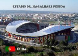 Portugal Leiria Magalhaes Pessoa Stadium New Postcard Stadion AK - Football