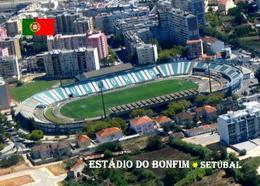 Portugal Setubal Bonfim Stadium New Postcard Stadion AK - Football
