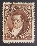 1867 - 1874, Personalities, Argentina, Used - Corrientes (1856-1880)