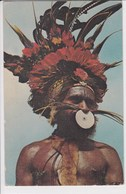 NOUVELLE GUINEE Papua New Guinéa Higlands Warrior - Papoea-Nieuw-Guinea