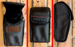 Etui PENTAX Pour Un Petit Compact : 130mm X 70mm X 50mm Toile & Simili - Appareils Photo